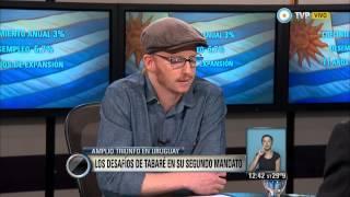 Uruguay: Agustín Lewit analiza los desafíos de Tabaré Vázquez para su segundo mandato