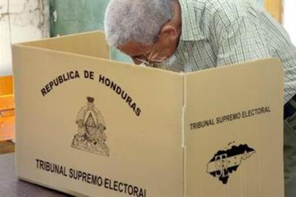 Como el rodaje de una película. Sobre las elecciones en Honduras