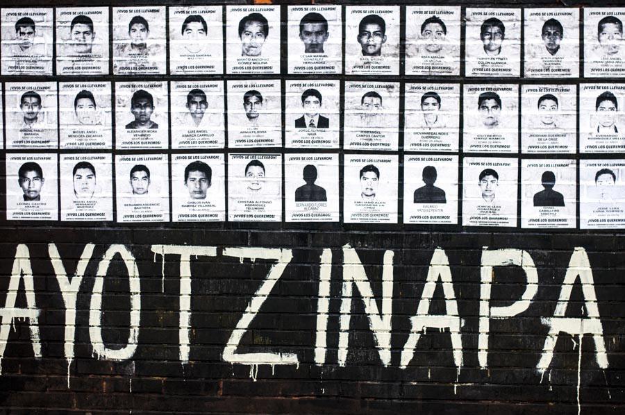 Ayotzinapa, a cinco meses, la memoria y la lucha por la verdad siguen vivas