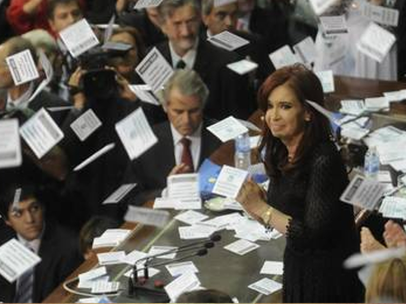 Apuntes sobre el discurso de Cristina Fernández en el Congreso