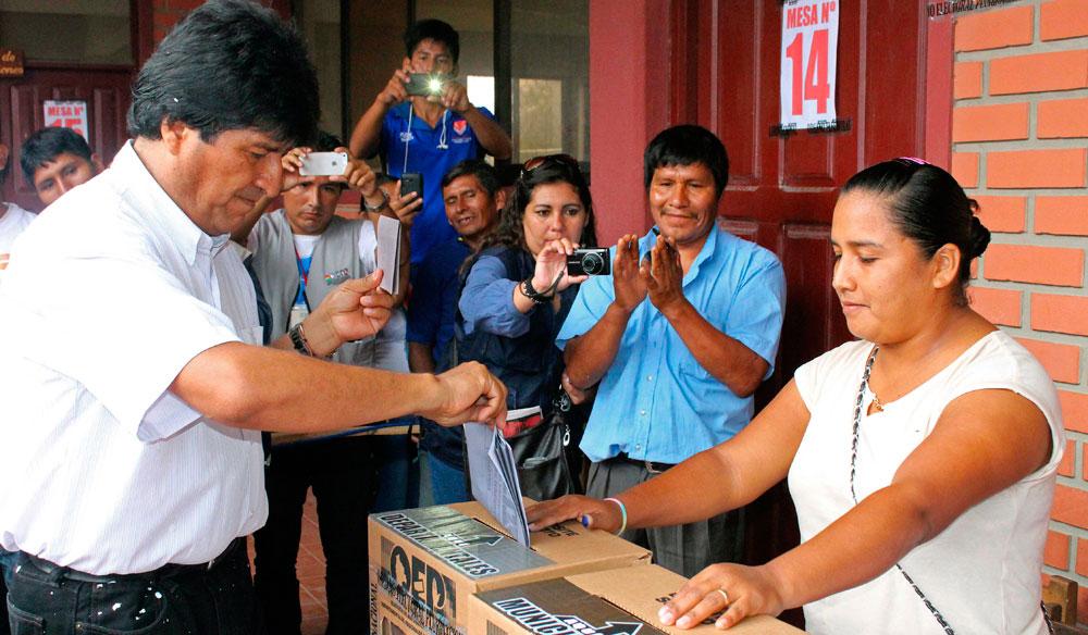 Con novedad en el frente: Bolivia después de las elecciones subnacionales