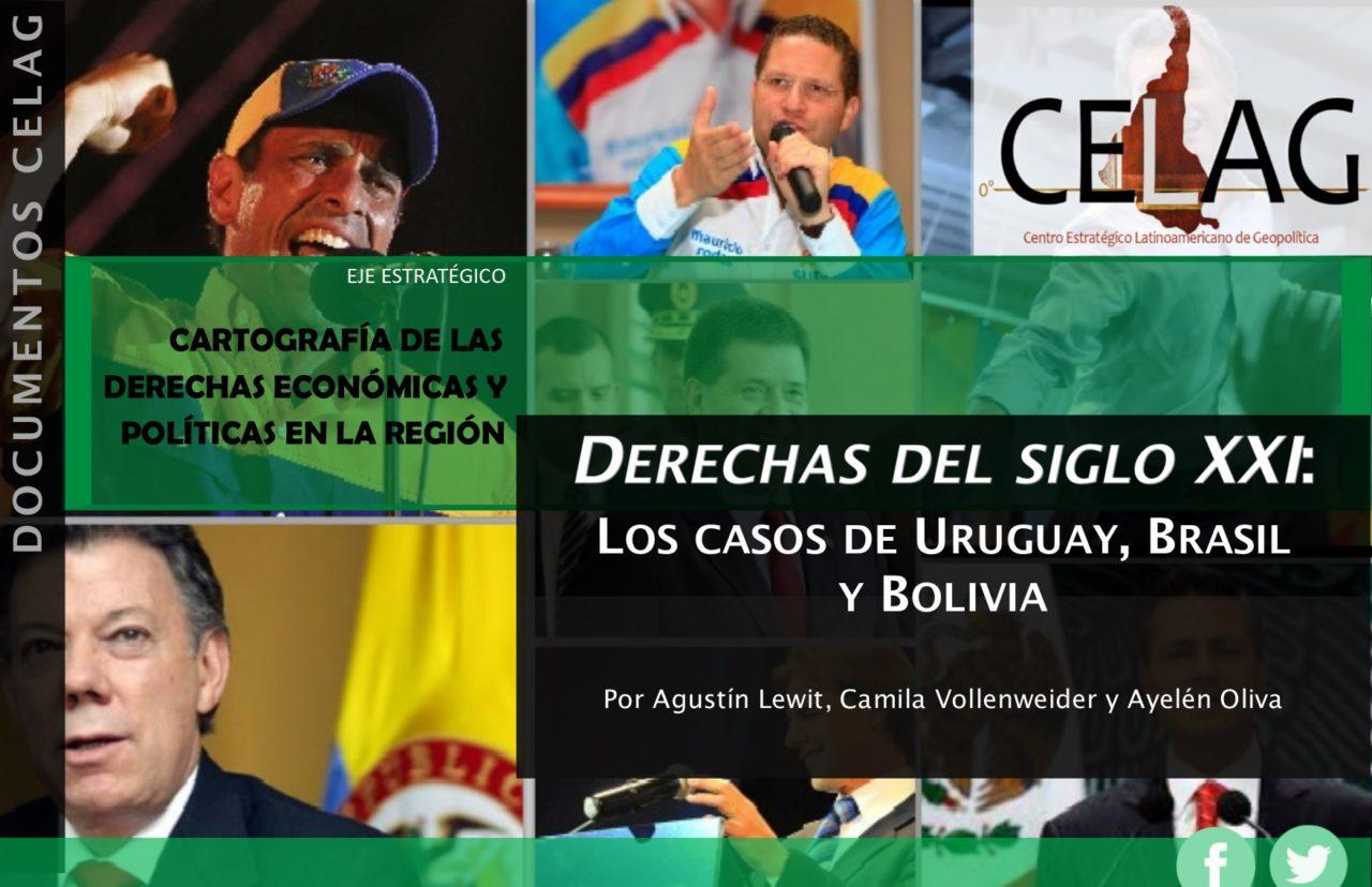 Derechas del siglo XXI: los casos de Uruguay, Brasil y Bolivia