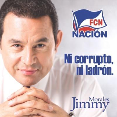 """Jimmy Morales ¿""""outsider"""" o miembro de la derecha guatemalteca?"""