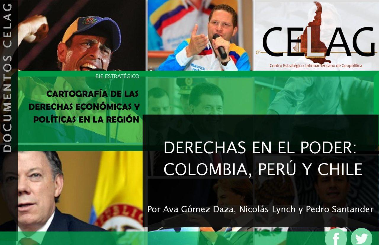 Derechas en el Poder: los casos de Colombia, Perú y Chile