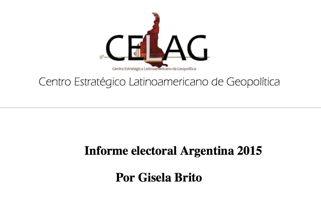 Análisis Elecciones Argentina 2015
