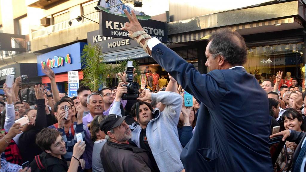 Scioli recargado. La campaña hacia el balotaje en Argentina