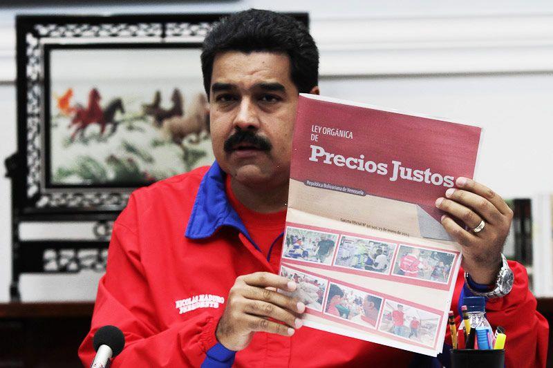 Venezuela contra la guerra económica: control de precios y aumento ...