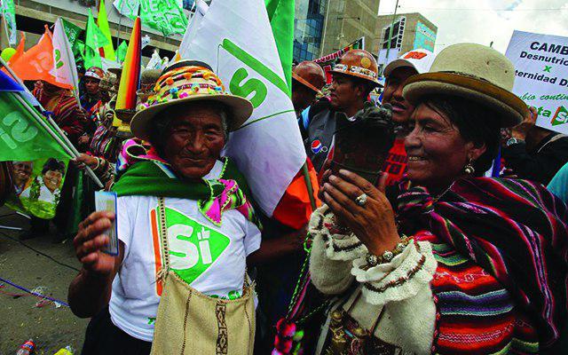 Una primera lectura provisional del Referéndum en Bolivia