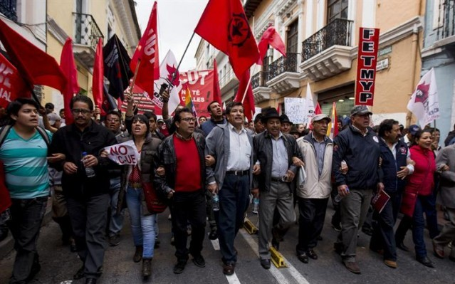 Ecuador: El debate en torno a la Ley Orgánica para la Optimización de la Jornada Laboral y Seguro de Desempleo