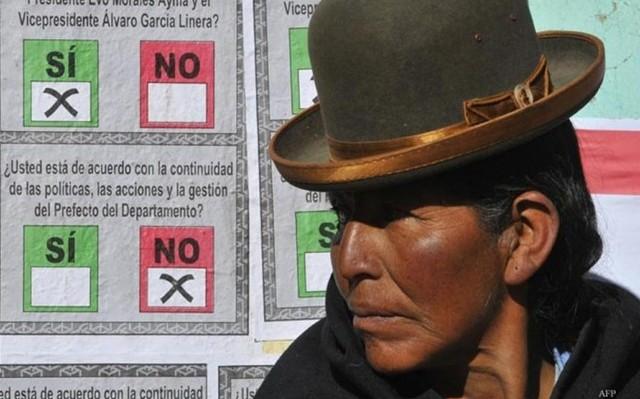 El NO de la oposición en Bolivia