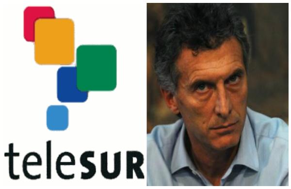 Macri rechaza a Telesur en Argentina: Blindaje mediático a la medida de las derechas