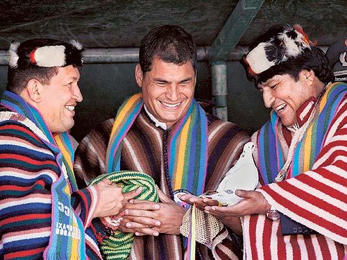 El trío constituyente de América latina