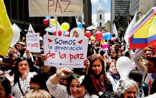 Colombia, la paz sí es contigo