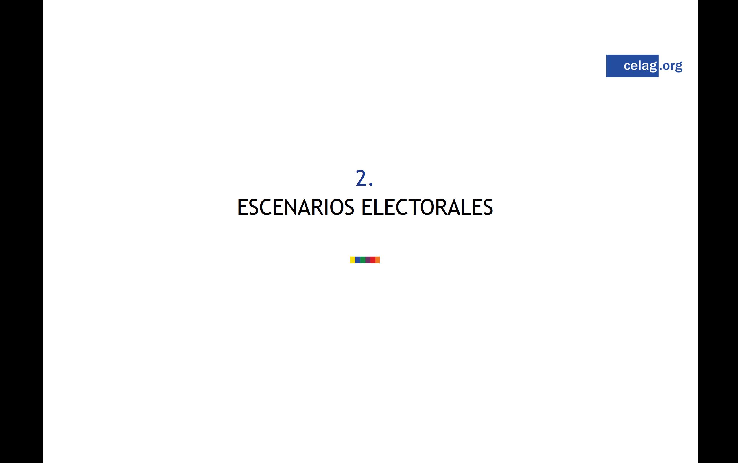 Escenarios electorales Colombia
