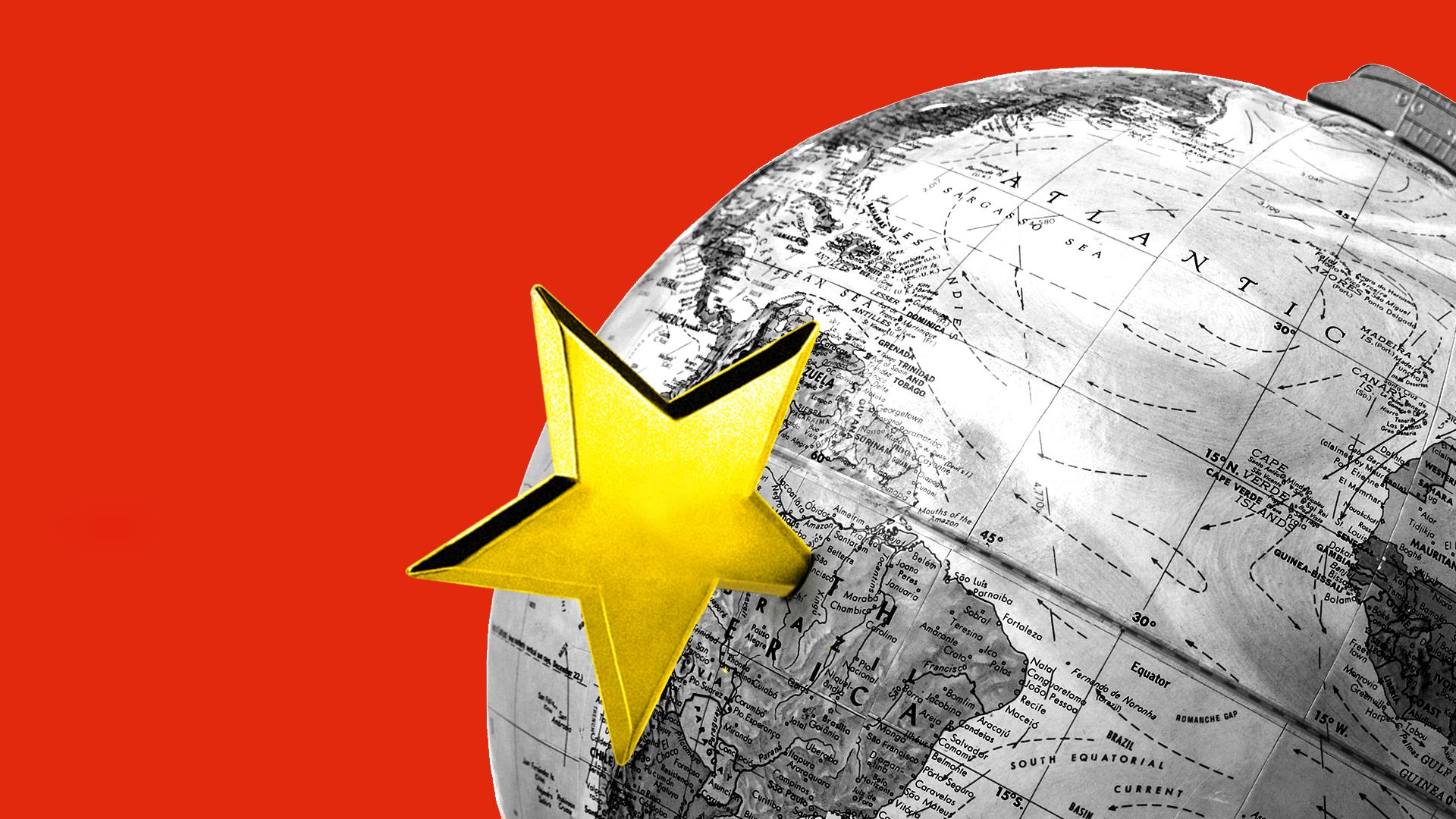 China en América Latina según EE. UU.