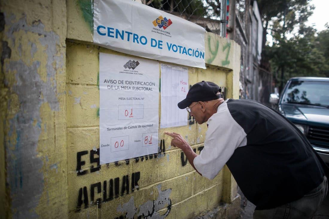 Informe poselectoral, elecciones atípicas en Venezuela