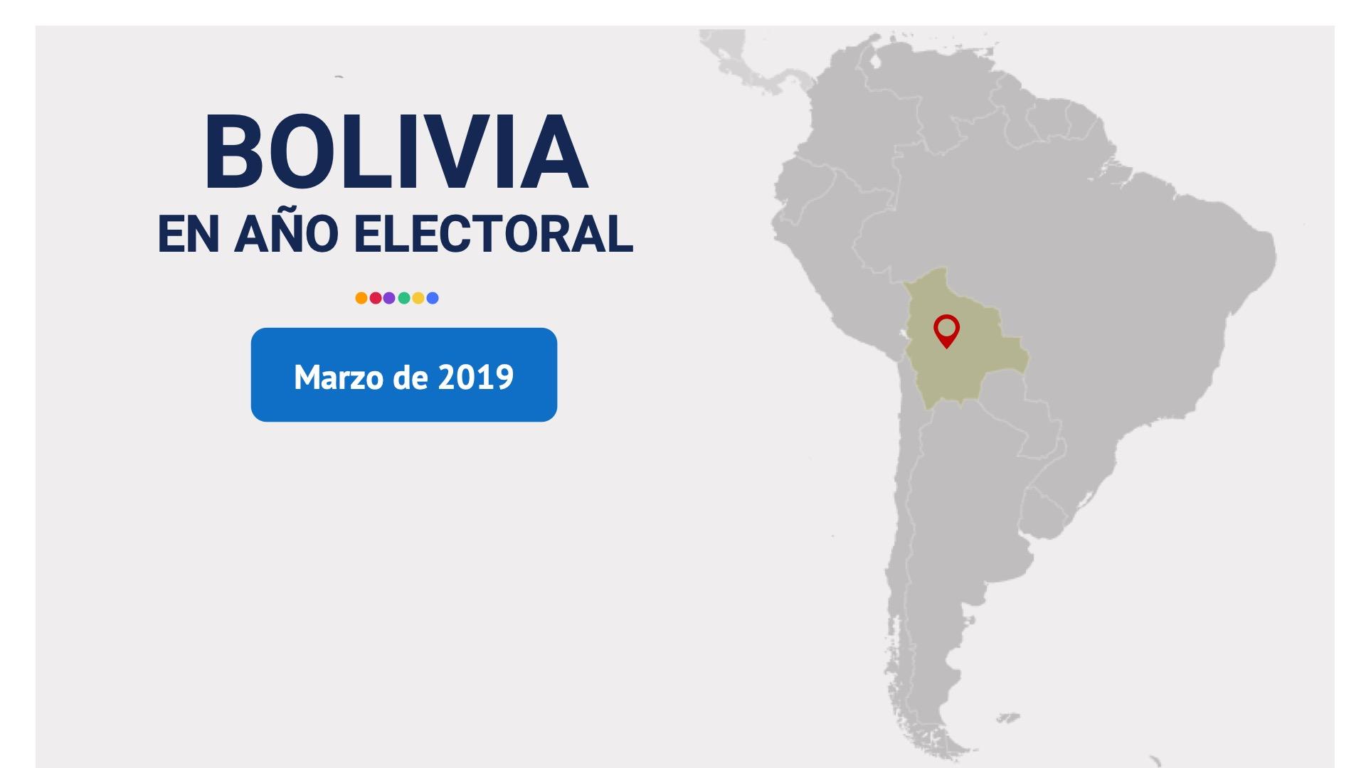 Bolivia elige: estudio cuantitativo de opinión (Marzo 2019)
