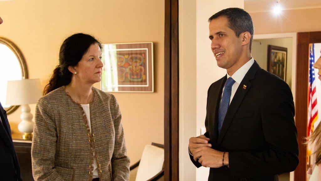 EE. UU. de gira con Guaidó