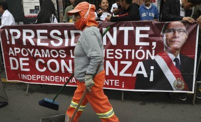 Peru, una cuestión de confianza o de cinismo?