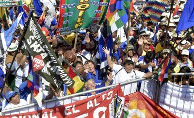 Bordes y desbordes en la contienda electoral boliviana