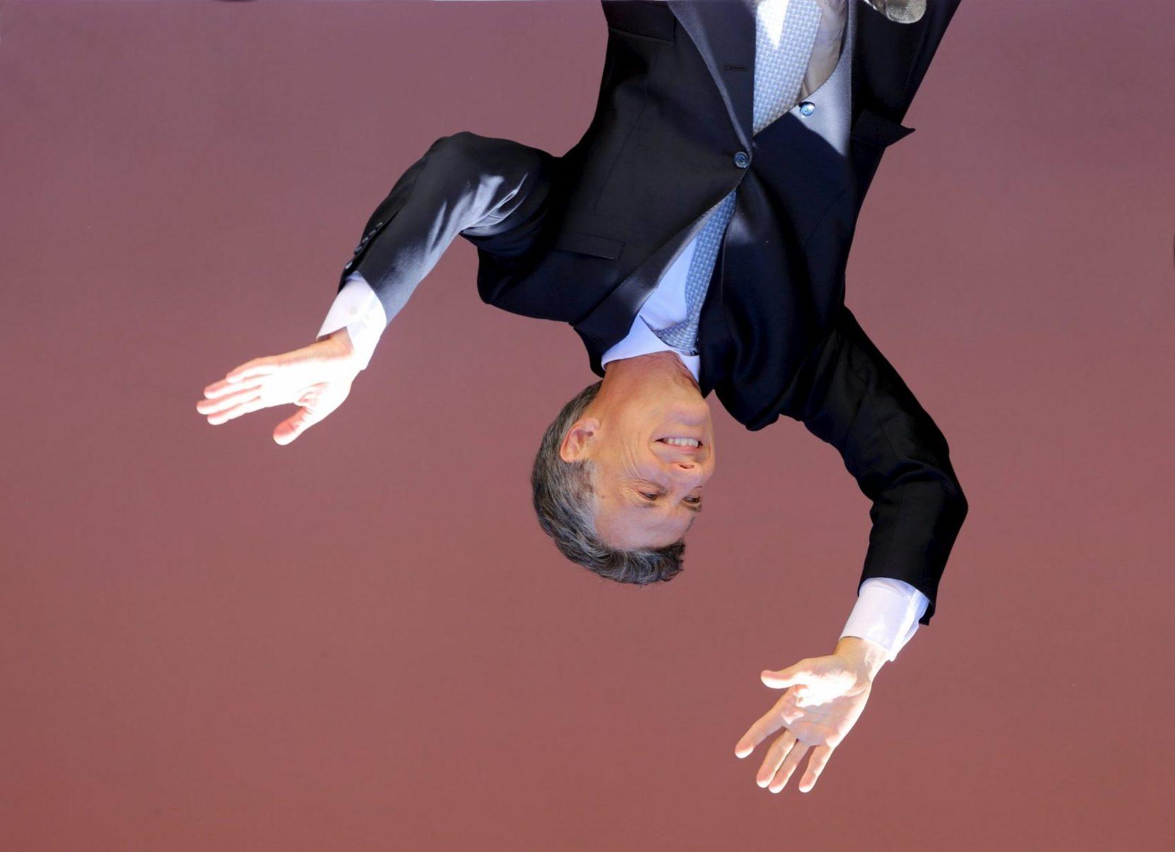 El hundimiento electoral de Macri