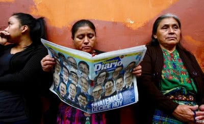 Tensiones previas a la segunda vuelta en Guatemala