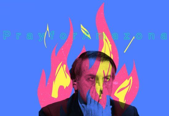 sudamerica en llamas