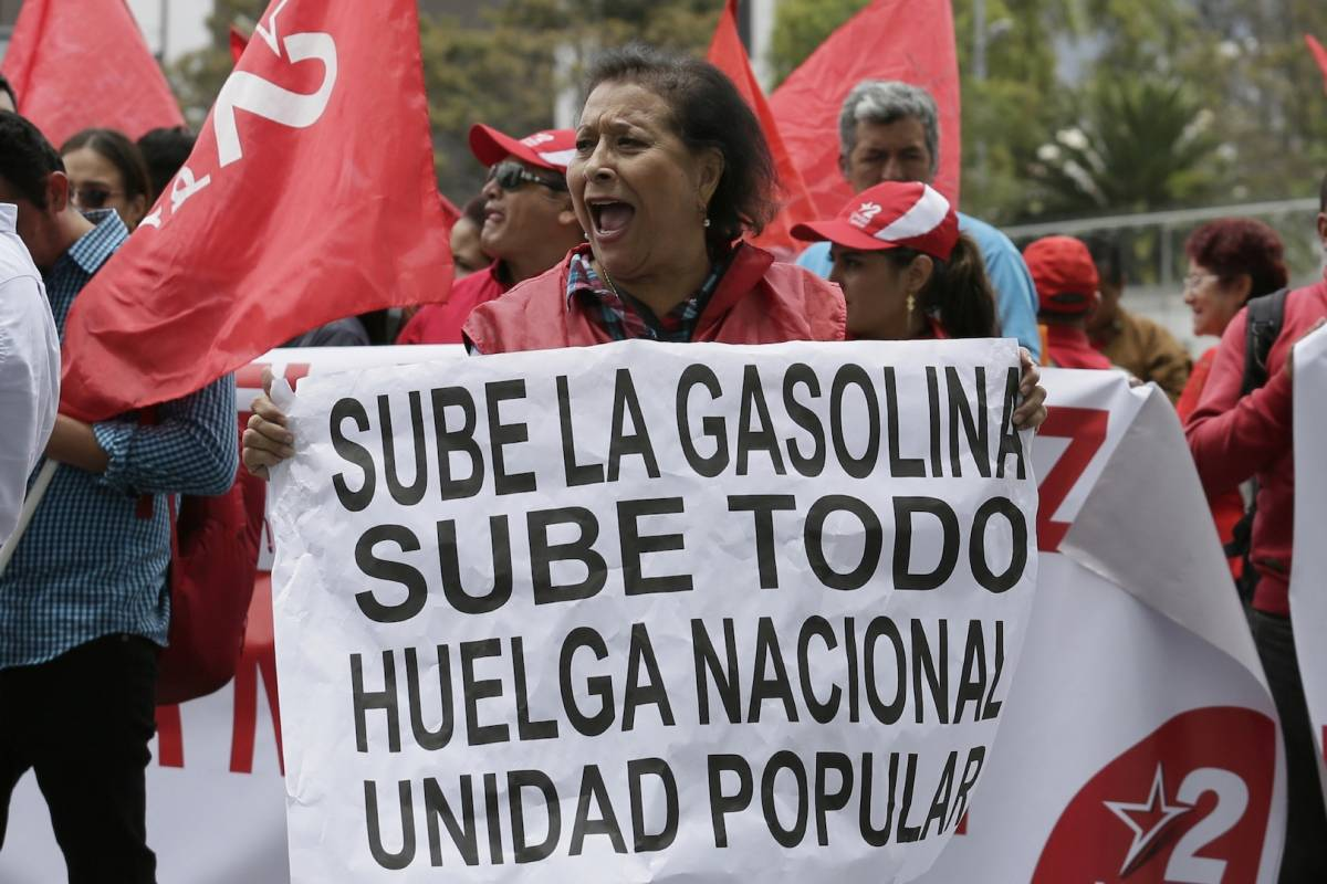 Ecuador- el combustible de la pobreza
