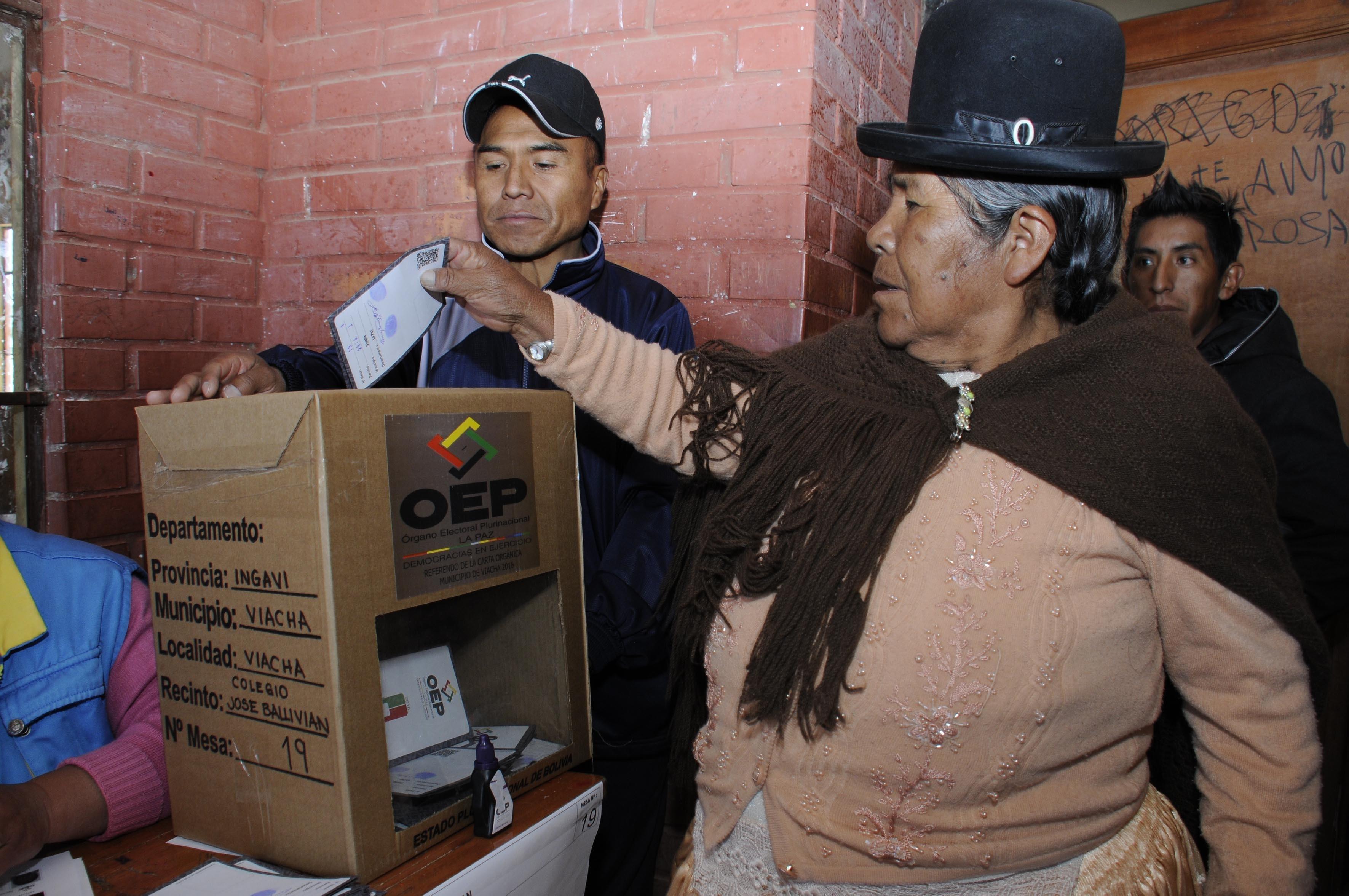 Rumbo a las elecciones en Bolivia