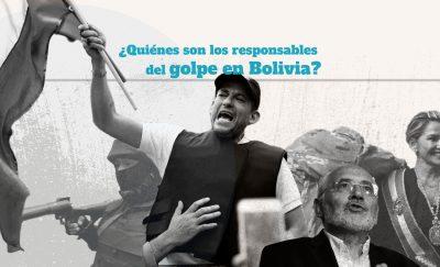 Quienes son los responsables del golpe en Bolivia