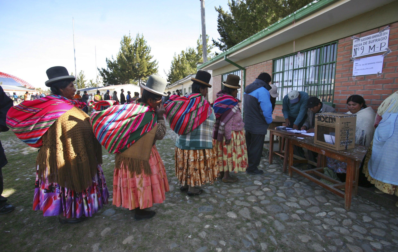 Cronograma electoral de las presidenciales Bolivia 2020